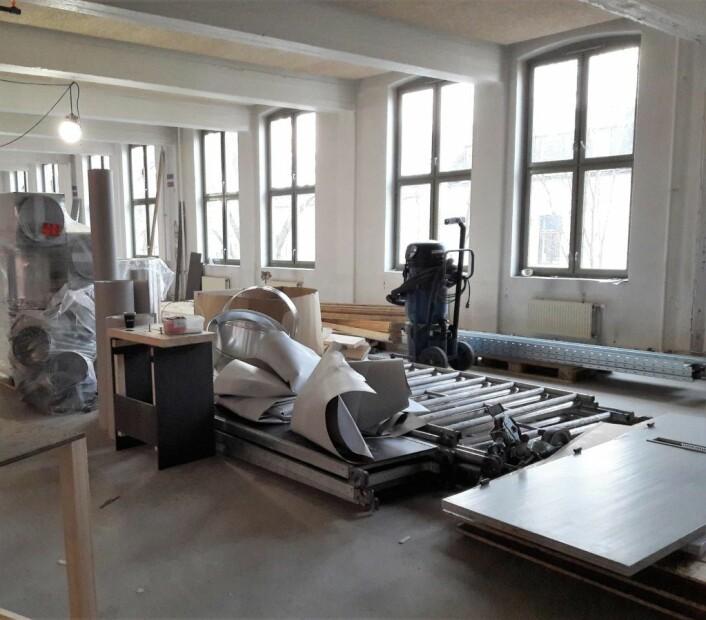 Allerede i slutten av januar kommer de første for å arbeide i Factory Tøyens cowork space. Foto: Anders Høilund