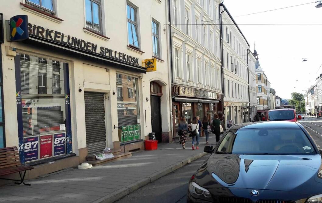 Innehaveren av Birkelunden spillekiosk i Thorvald Meyers gate varslet nedleggelse etter at familien hadde drevet forretninger i lokalet i 110 år. � Jeg har fått nok, sa han.