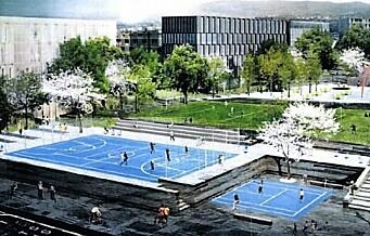 Lokalpolitikerne i bydel Grünerløkka vil ha svømmehall i den nye aktivitetsparken på Løren