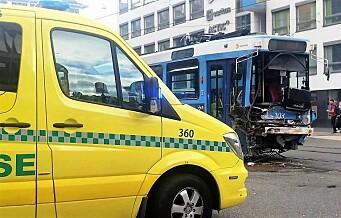 Fem personer drept i Oslo-trafikken i 2018. To flere enn i 2017