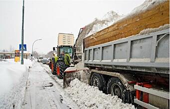 Snør det rekordmye i vinter, har Oslo kommune en kriseplan