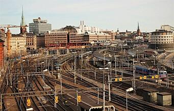 Svensk selskap planlegger hurtigtog Oslo-Stockholm med reisetid på under tre timer