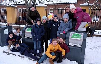 Femteklassinger på Ila skole til ordføreren: — Ta vare på miljøet. Det er vi som skal ta over denne byen