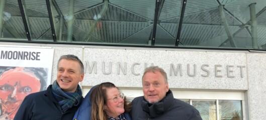 Nationaltheatret flytter inn i Munchmuseet på Tøyen