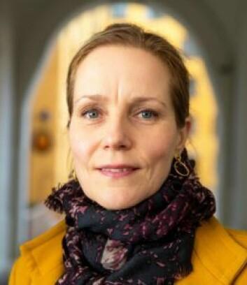 Riksantikvar Hanna Geiran bidrar nå med økonomisk støtte til eieren av Halléngården, slik at bygget kan tas i bruk igjen snarest. Foto: Håkon Mosvold Larsen / NTB scanpix