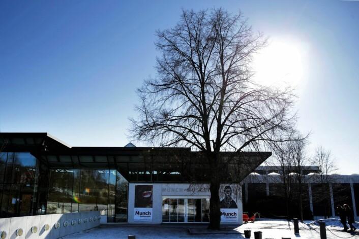 Munchmuseet på Tøyen i Oslo. Foto: Håkon Mosvold Larsen / NTB scanpix