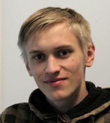 Egil Bjørnæs (19) er veldig fornøyd med Jobbsjansen. Foto: André Kjernsli