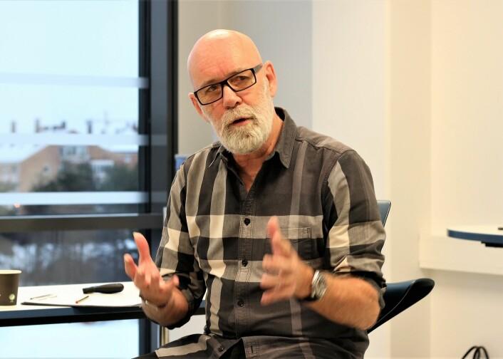 Svenning Vang har jobbet frivillig med Jobbsjansen siden starten i 2006. Foto: André Kjernsli