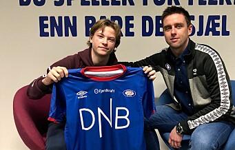 15-åring signerer for Vålerenga fotball