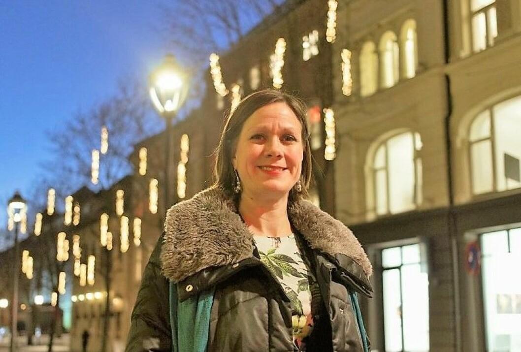 �  Om en overskrift virker for sprø til å være sann, så er den ofte det, sier byutviklingsbyråd Hanna E. Marcussen (MDG). Foto: Kristina Søgnebotten Lang-Ree