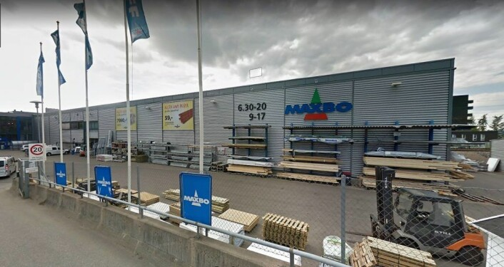 � I dag har jeg fått mange henvendelser fra folk som er oppgitt fordi de skal bli tvunget til å sykle til Maxbo på Sinsen for å kjøpe byggematerialer, sier en oppgitt byutviklingsbyråd, Hanna E. Marcussen (MDG). Foto: Google maps