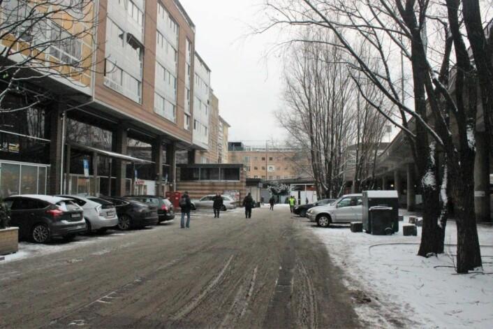 Mange av forslagene fra møtet går på å åpne området for gjennomgang. Foto: André Kjernsli