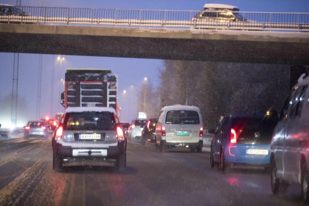 – Skal alt vi gjør bli overvåket? Jeg er skeptisk til GPS-overvåking av bilister. Foto: Terje Pedersen / NTB scanpix