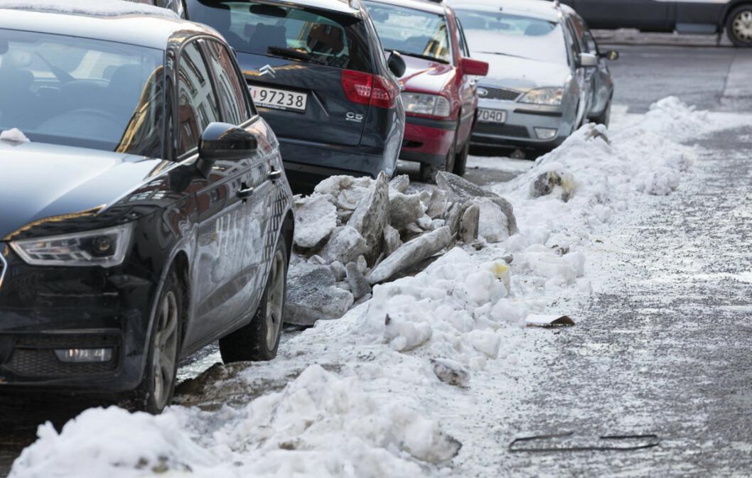 – Virke er ikke bare i utakt med forskningen, men også med befolkningen, når det gjelder behovet for parkeringsplasser, mener Eivind Trædal. Foto: Gorm Kallestad / NTB scanpix