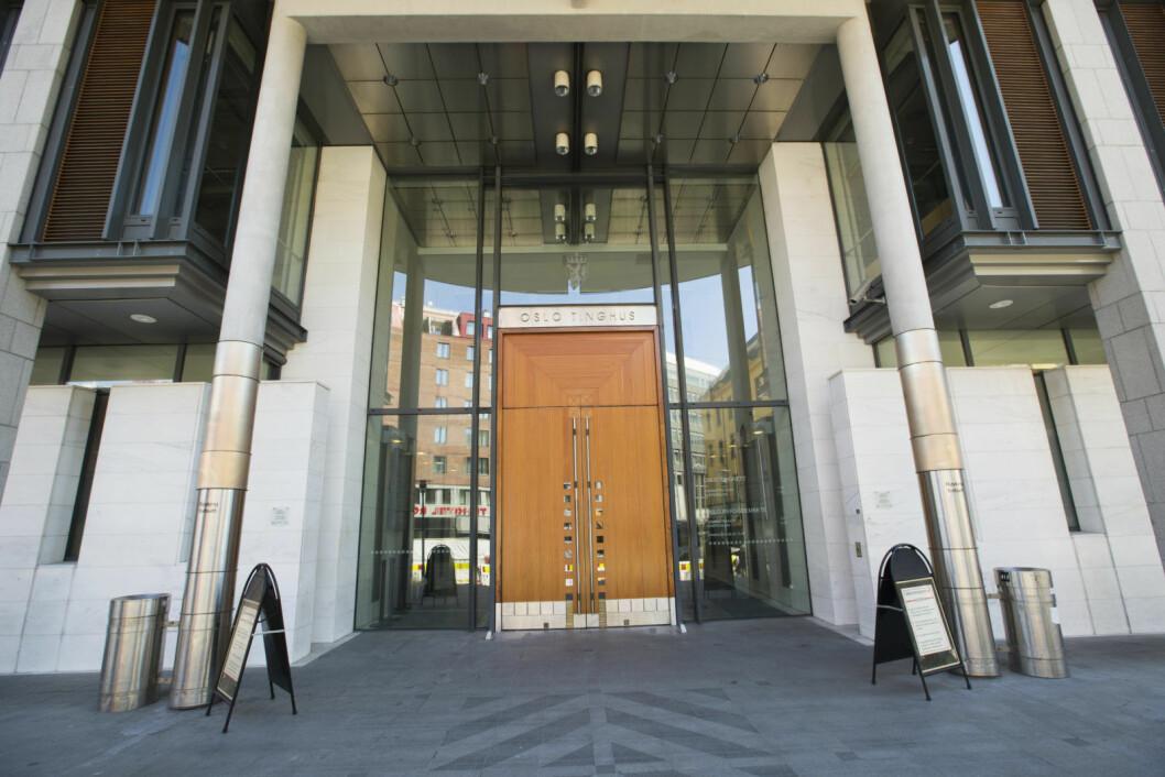 Dommeren er ansatt ved Oslo tingrett. Nå etterforskes mannen for besittelse av overgrepsmateriale mot barn. Foto: Trond Reidar Teigen / NTB scanpix