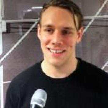 Tobias Lindström er tidligere lagkompis og nå Ahlholms makker i VIF.