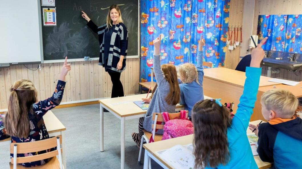 Både mobbeombud Kjerstin Owren og utdanningsbyråd Inga Marte Thorkildsen (SV) mener skolene i Oslo er blitt bedre til å takle mobbing. Illustrasjonsfoto: Gorm Kallestad / NTB scanpix