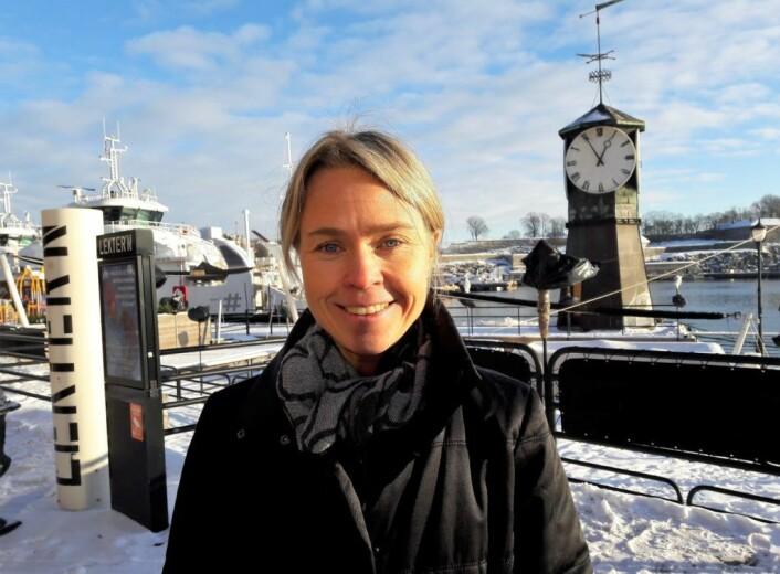 Markedssjef Marthe Kristiansen i Mat og Drikke gruppen merker at kundene har blitt mer miljøbevisste. Foto: Anders Høilund
