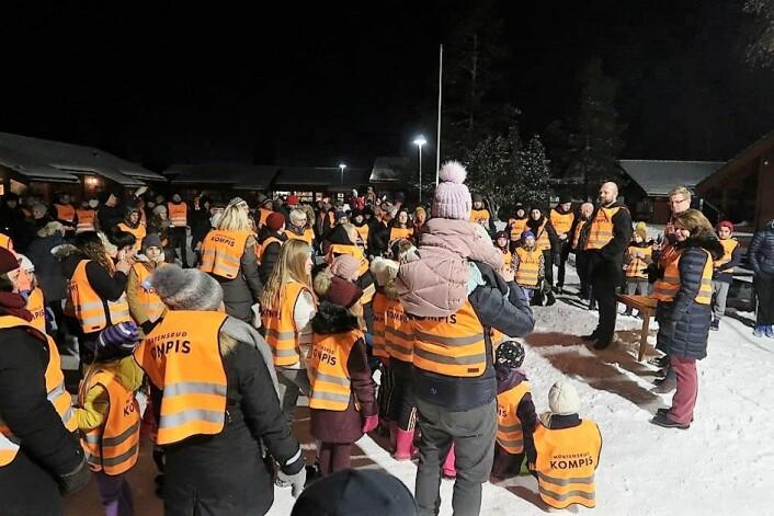 Flere hundre mennesker har på kort tid engasjert seg i Mortensrudkompisene. Foto: Kjersti Herland Johnsen