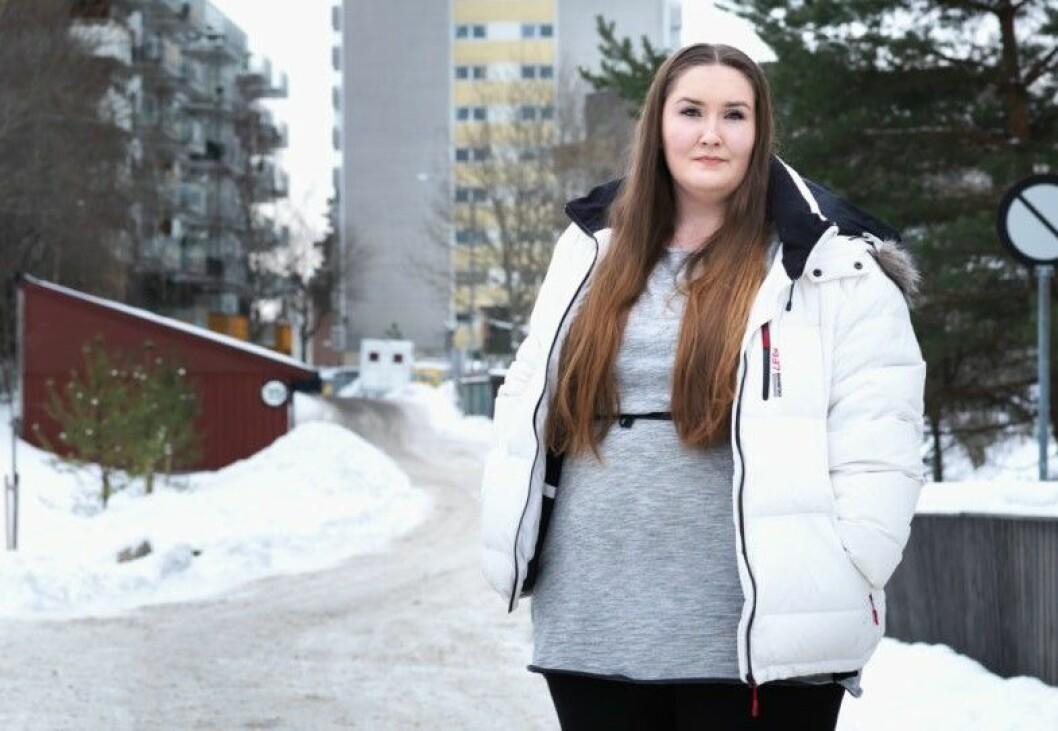 - Jeg savner en mer aktiv boligpolitikk som gir unge en mulighet til å komme seg inn på boligmarkedet, sier Ida Renate Olsen (25). Foto: Bjørnar Morønning