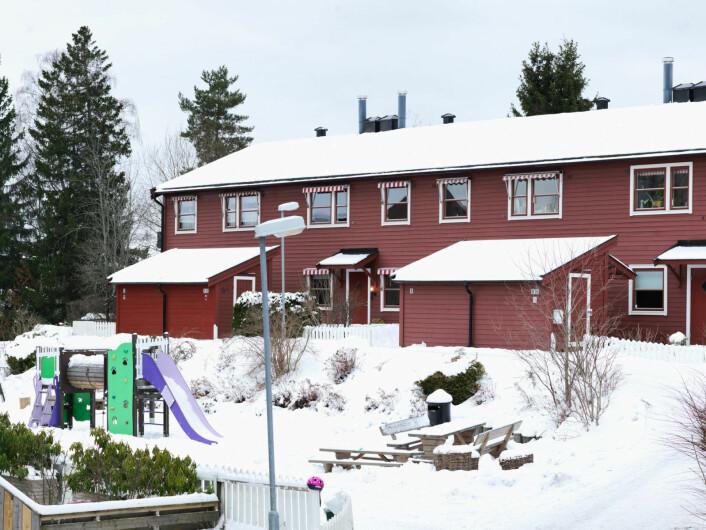 � Vi er ikke vanskeligstilte, så da får vi ikke hjelp noe sted. Jeg savner at for eksempel Oslo kommune har det man kaller «leie for å eie», sier Ida Renate Olsen. Foto:Bjørnar Morønning