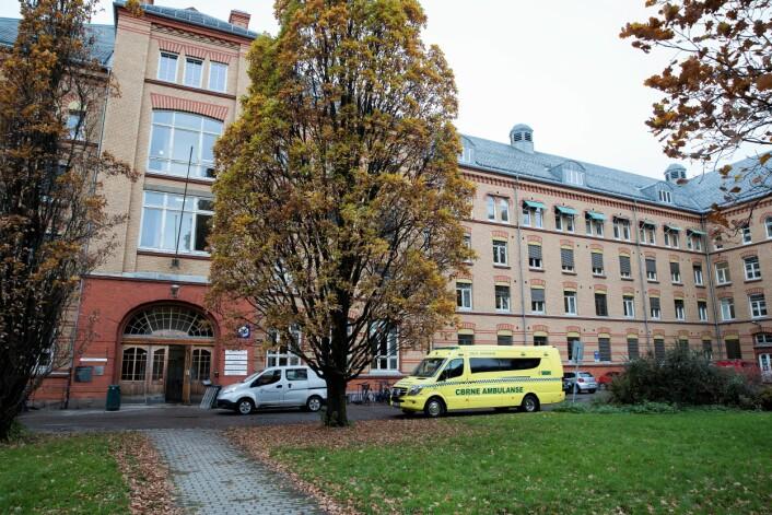 Ullevål sykehus kan bli bevart likevel. Her ortopedisk senter og hjerte-lungesenteret ved Ullevål sykehus. Foto: Terje Bendiksby / NTB scanpix