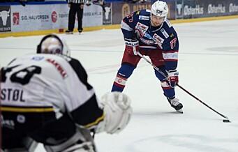 Surt straffetap men fortsatt tabelltopp for Vålerenga Hockey