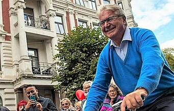 Fabian Stang tapte kamp på Oslo Høyres årsmøte. Overveldende flertall for å beholde trikken