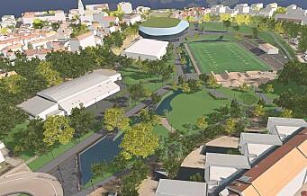 Over 100 p-plasser fjernes når Nye Jordal Park står ferdig. Breddeidretten fortviler