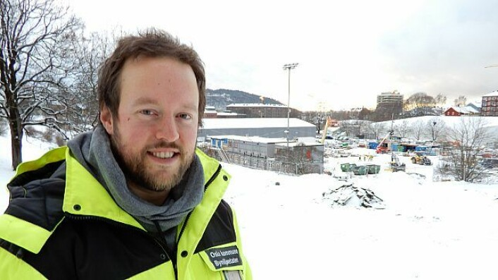 � Totalt er det 61 p-plasser, hvorav 14 er reservert bevegelseshemmede, sier prosjektleder For Nye Jordal Park, Dan Paulsen.Foto: Kristin Nilsen / Oslo kommune