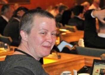 � Mange boligspekulanter er utrolig kjipe, mener Rødts Marit Halse. Foto: Arnsten Linstad