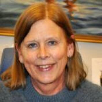 Camilla Wilhelmsen (Frp) står bak navnet på den nye ishallen. Foto: Arnsten Linstad