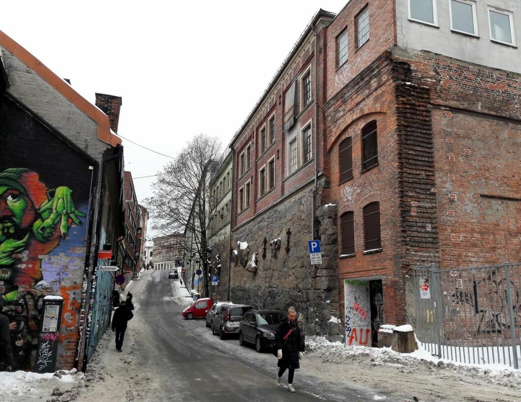 Brenneriveien skal forsterkes som en gate for kulturarbeide. Foto: Anders Høilund