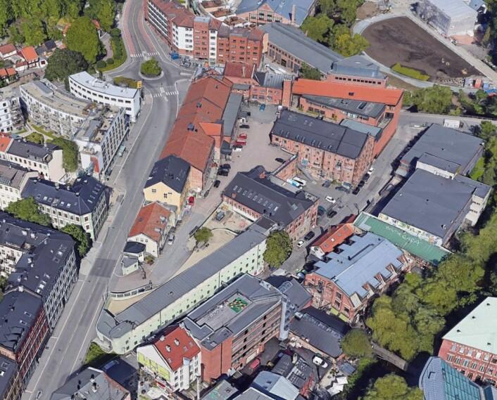 Oversiktsbilde over Maridalsveien 3. Illustrasjon med tillatelse fra eiendoms- og byfornyelsesetaten