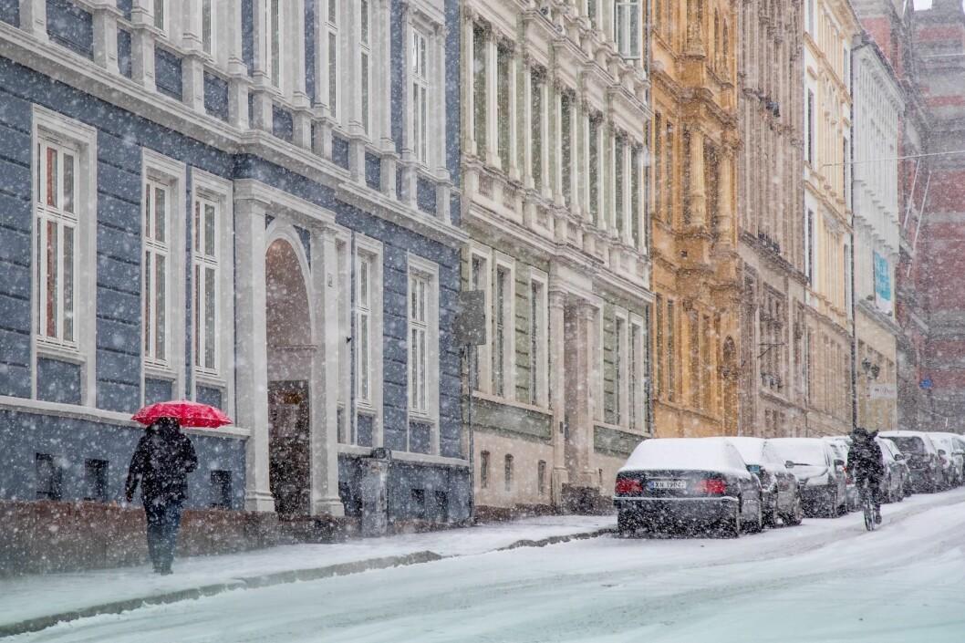 For første gang tilbyr kommunen alle innbyggere, både de som jobber og er bosatt i Oslo, gratis deltakelse i Sykle til jobben-aksjonen. Foto: Heiko Junge / NTB scanpix