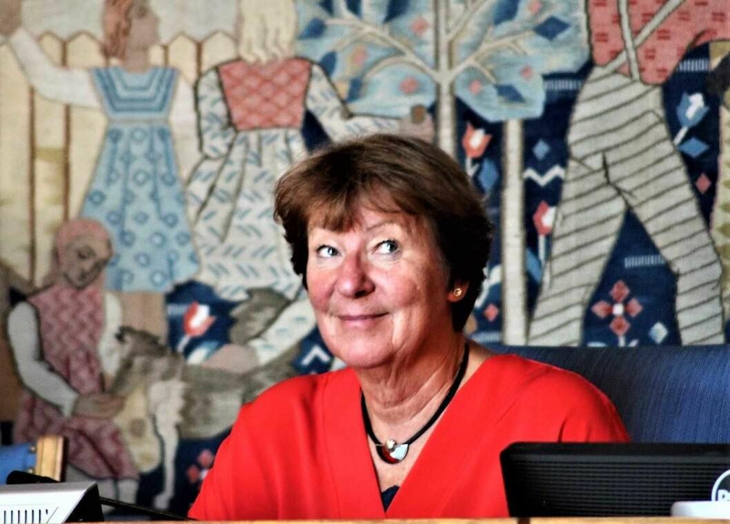 AP i Oslo fremmer SVs Marianne Borgen som sin ordførerkandidat til høsten. Foto: André Kjernsli