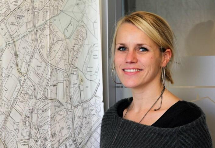 Seksjonsleder Henriette Vidnes i EBY. Foto: EBY