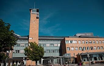 Tre sykehusansatte i Oslo sagt opp etter trakasseringsvarsler