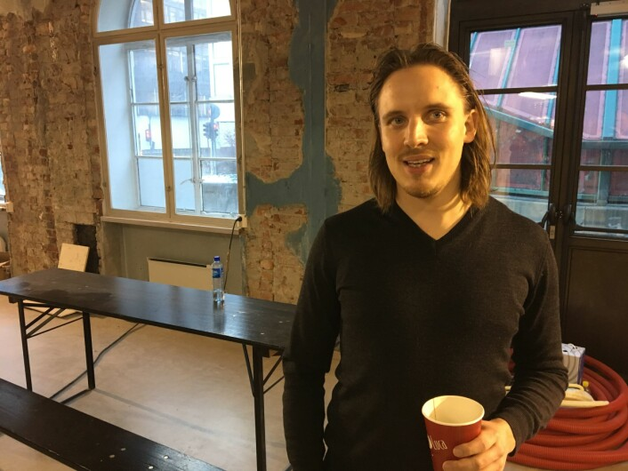 Wilhelm Larsen har business-bakgrunn fra København, men fant tidlig ut at det var street food han brant for. Foto: Vegard Velle