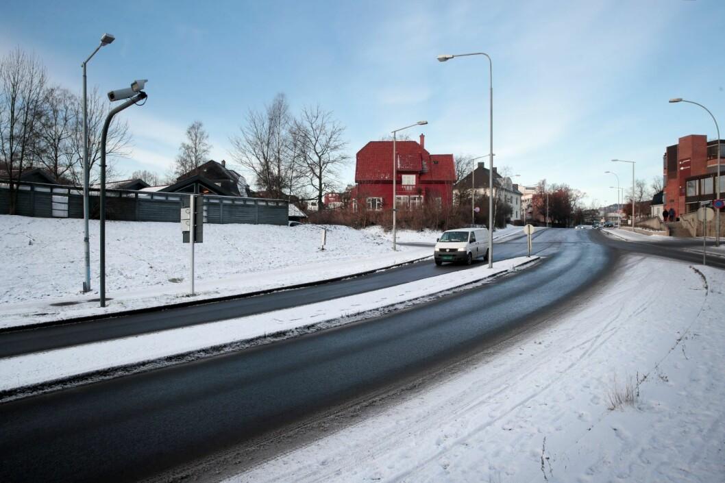 Biltrafikken går opp i januar i år i forhold til i fjor. Foto: Lise Åserud / NTB scanpix