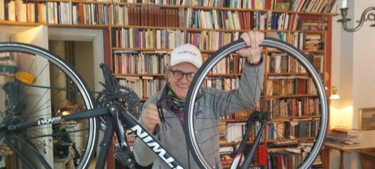 – Syklister må tolerere at bilister stopper i sykkelfeltet utenfor Polet på Frogner