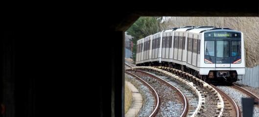 – T-banen trenger ikke at noen trekker i noen nødbrems, bare full fart fremover