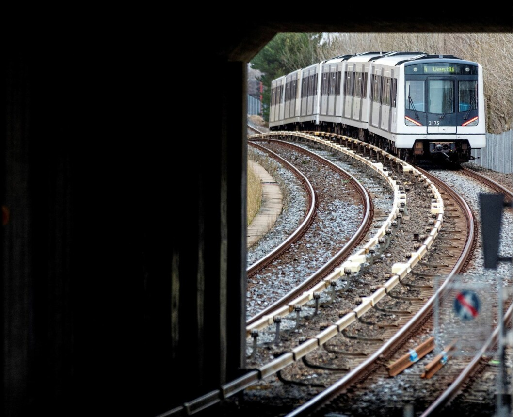 - Skal det kunne gå flere T-baner i ytre by, så må den flaskehalsen utvides med en ny tunnel, skriver  Emil Snorre Alnæs. Foto: Gorm Kallestad NTB/Scanpix