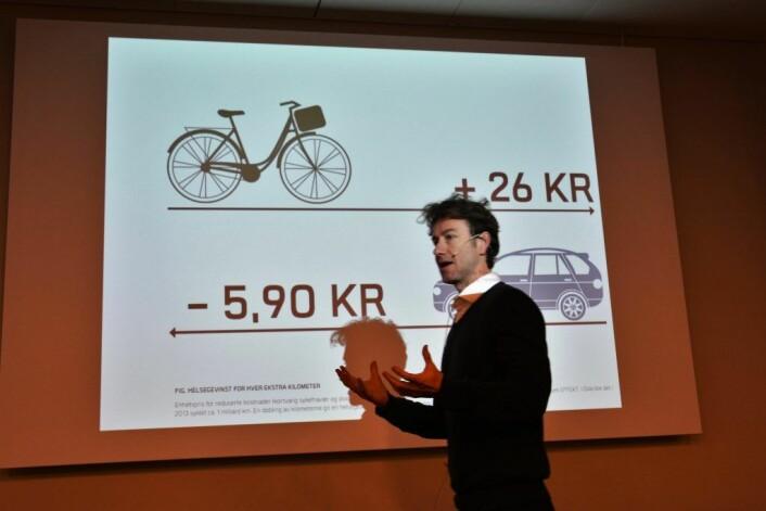 Rune Gjøs er direktør for Sykkelprosjektet i bymiljøetaten i Oslo kommune. Illustrasjonsfoto: Undervisningsbygg