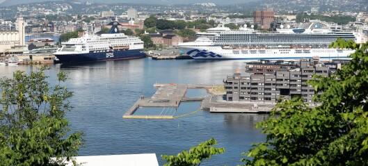 Oslo havn venter 125 cruiseskip i år