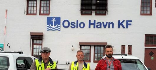Havnearbeiderne i Oslo likevel ikke arbeidsledige. Får ny jobb hos Seafront Dockers