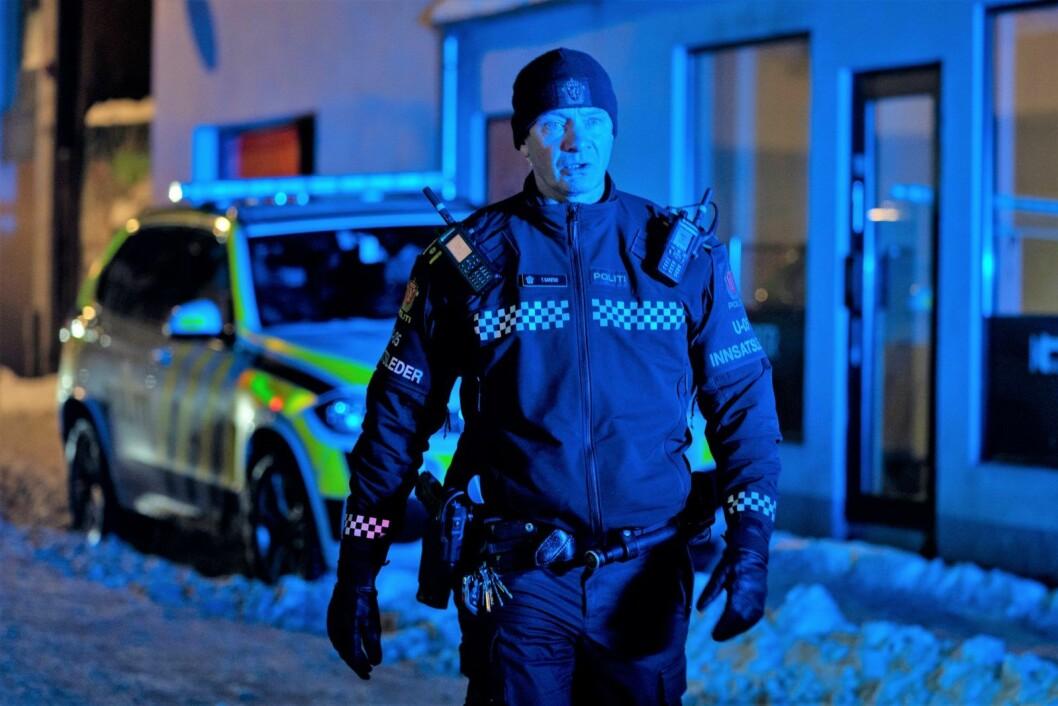 Innsatsleder Tore Barstad i Oslo politidistrikt koordinerte flere patruljer som raskt pågrep to tenåringer mistenkt for knivstikkingen i Motzfeldts gate. Foto: Heiko Junge / NTB scanpix