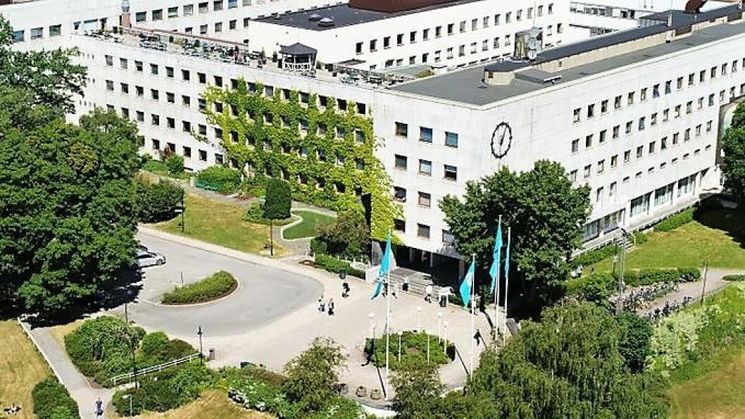 Radiobygget på NRK Marienlyst er bestemt vernet av Riksantikvaren. Foto: NTB/Scanpix