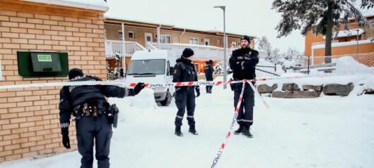 Mistenkelig dødsfall på Søndre Nordstrand