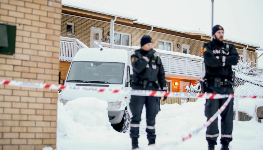En kvinne ble funnet død i en leilighet på Bjørndal i februar i fjor. En 41 år gammel nabo er nå tiltalt for drapet og mandag starter rettssaken.